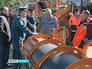 Воронежская аварийно-спасательная техника к холодам готова