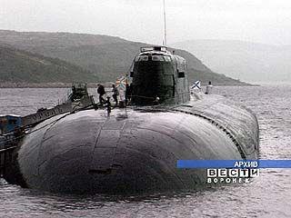 Воронежская делегация поздравила экипаж подводной лодки в Северодвинске