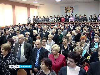 Воронежская гимназия ╧9 отмечает в этом году 40-летие