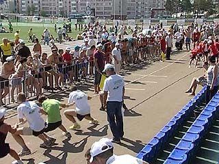 Воронежская область заняла 37 место на Всероссийских сельских играх-2010
