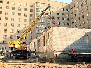 Воронежская областная больница  расширяется