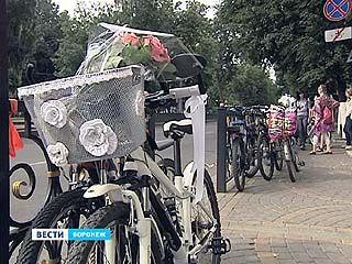 Воронежская велосвадьба собрала гостей даже из соседнего региона