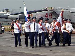 Воронежская военная авиационная база отметила свой день рождения