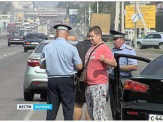 Воронежские автоинспекторы и приставы ловили должников