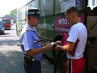 Воронежские автоинспекторы взялись за маршрутки