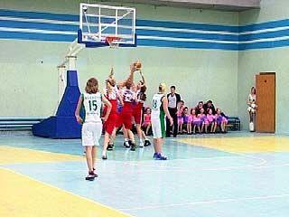 Воронежские баскетболистки обыграли команду из Курска