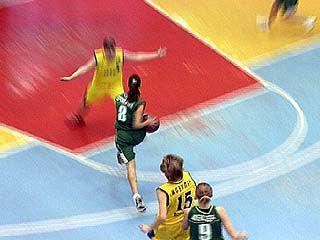 Воронежские баскетболистки одержали победу над курскими