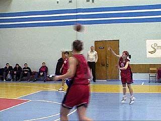 Воронежские баскетболистки отыграли 2-ой тур первенства ЦФО