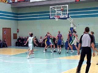 Воронежские баскетболистки проиграли команде из Курска