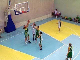 Воронежские баскетболистки проиграли команде из Волгограда