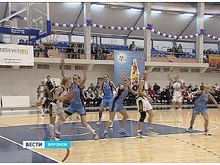 Воронежские баскетболистки разгромили команду из Сыктывкара