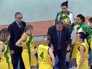 Воронежские баскетболистки встретились с командой из Ростова-на-Дону