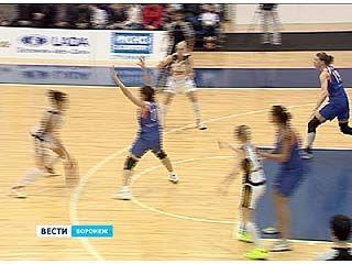 Воронежские баскетболистки завершили серию домашних игр