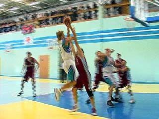 Воронежские баскетболисты обыграли команду из Тамбова