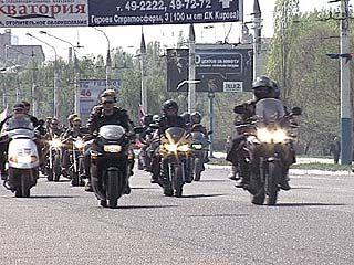Воронежские байкеры открыли сезон