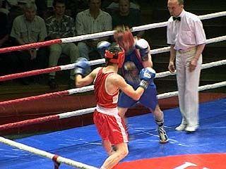Воронежские боксеры встретились с таджикскими