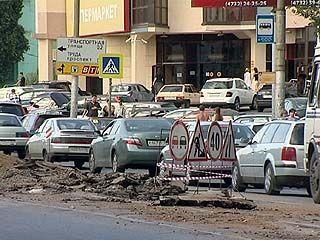 Воронежские дороги медленно, но ремонтируют