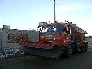 Воронежские дорожники готовы к борьбе с гололёдом и снегом