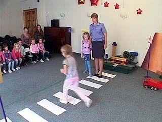 Воронежские дошколята учат взрослых соблюдать БДД