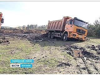 Воронежские экологи у поселка Медовка обнаружили незаконную свалку грунта