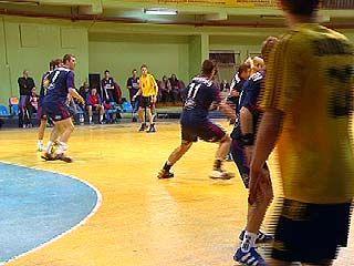 Воронежские гандболисты потерпели поражение на Чемпионате России