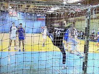 Воронежские гандболисты встретились с командой из Санкт-Петербурга