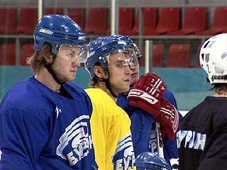 Воронежские хоккеисты встретились с клубом из Брянска