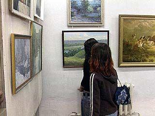 Воронежские художники представили свои работы на суд зрителей