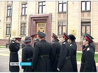 Воронежские кадеты выступили в защиту директора Михайловского корпуса