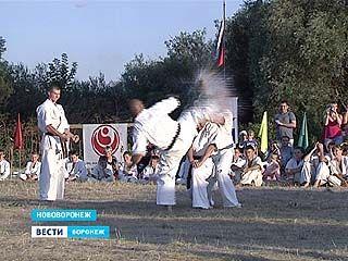 Воронежские каратисты проходили испытания на повышение в классе