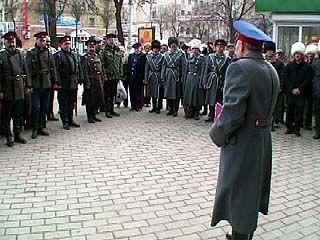 Воронежские казаки совершили молебен в честь Великого поста