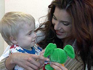 Воронежские красавицы посетили обездоленных детей