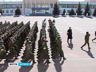 Воронежские курсанты оттачивают мастерство перед парадом на Красной площади