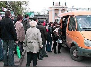 Воронежские маршрутки выходят на линию неподготовленные