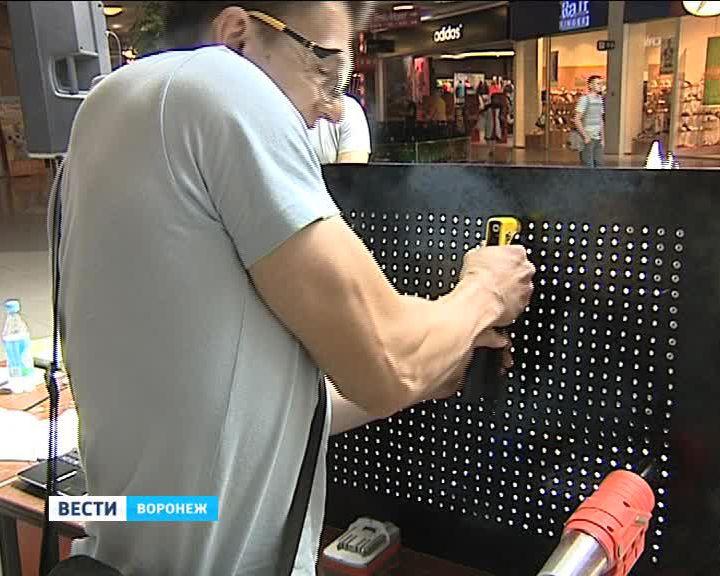 Воронежские мастера соревновались в умении ставить заклёпки на скорость