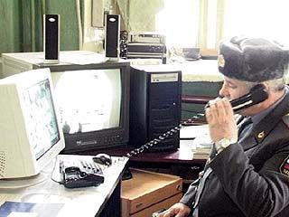 Воронежские милиционеры несут службу в обычном режиме