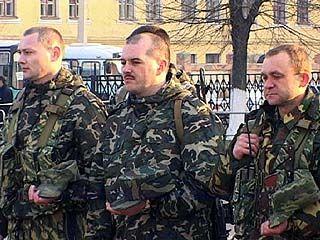 Воронежские милиционеры отправились в Чечню