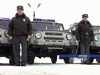 Воронежские милиционеры получили новые служебные машины