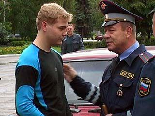 Воронежские милиционеры попросили Сергея Селина повлиять на водителей