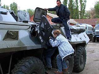 Воронежские милиционеры проводят специальную акцию