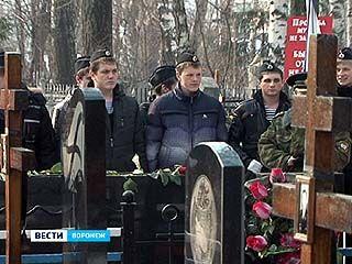 Воронежские моряки-подводники вспомнили павших товарищей