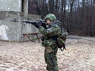 Воронежские ОМОНовцы готовятся к командировке в Чечню