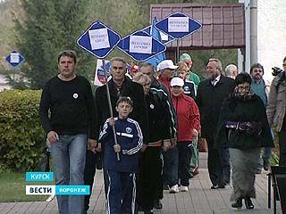 Воронежские пенсионеры приняли участие в спортивных состязаниях