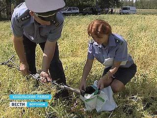 Воронежские почвы заражены химикатами
