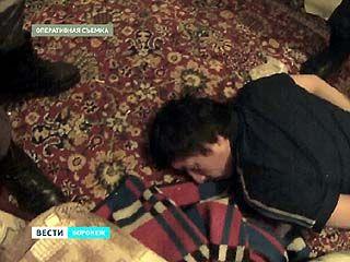Воронежские полицейские с трудом задержали продавца героина