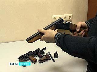 Воронежские полицейские задержали группу оружейников-кустарей