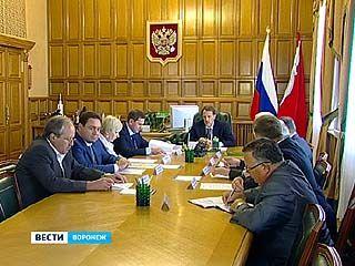 Воронежские представители политических партий встретились у губернатора