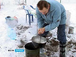 Воронежские рыбаки провели соревнования по приготовлению ухи