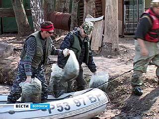 Воронежские рыбаки решили очистить водохранилище от браконьерских сетей