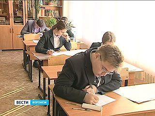 Воронежские школьники писали пробные итоговые сочинения